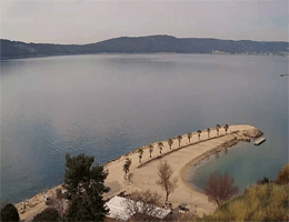 Split – Kašjuni Beach Webcam Live