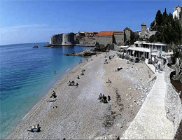 Dubrovnik – Banje Beach Webcam Live
