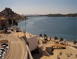 Šibenik – Beach Banj Webcam Live