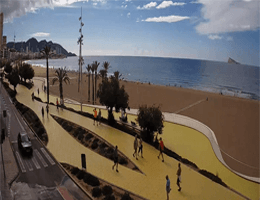 Benidorm – Playa de Poniente Webcam Live