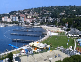 Portorož – Panorama Webcam Live