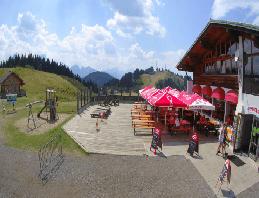 Arnoldstein – Dreiländereck Bergrestaurant Webcam Live