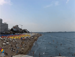 Lignano Sabbiadoro – Strandpanorama Webcam Live