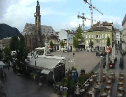 Bozen – Waltherplatz Webcam Live