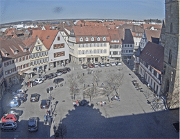 Öhringen – Marktplatz Webcam Live