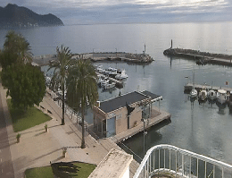 Cala Bona – Hafen Webcam Live