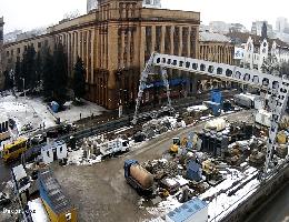 Dnipro – Tsentralna (Dnipro Metro) Webcam Live