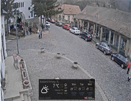 Zebegény – Main Square Webcam Live