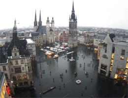 Halle Saale Marktplatz Webcam Live