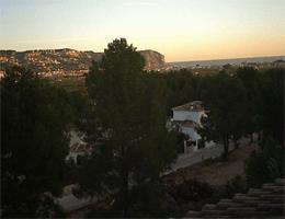 Jávea (Xàbia) – Casa Hispano – Cap de San Antonio webcam Live