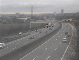 A01 West Autobahn Blickrichtung Wien Km 175,21 Webcam Live