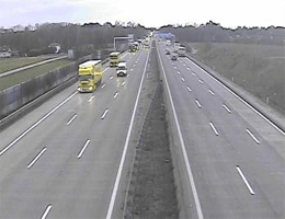 A01 West Autobahn Blickrichtung Linz Km 153,41 Webcam Live