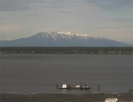 Anchorage – Berg Susitna (Sleeping Lady) webcam Live