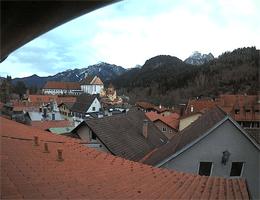 Füssen Tegelberg und Säuling Webcam Live