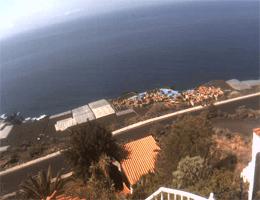 Fuencaliente de La Palma Meerblick Webcam Live