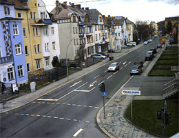 Hof – Kulmbacher Straße webcam Live