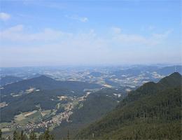 Hohenbogen – Blick ins Koetztinger Land webcam Live