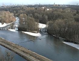 München – Isar – Flaucher webcam Live