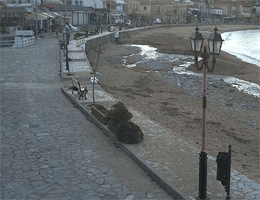 Stoupa Promenade webcam Live