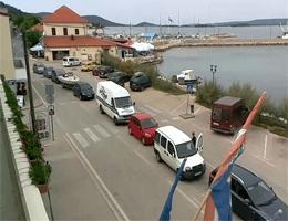 Tkon (Pašman) – Zugang zu Fähranleger webcam Live