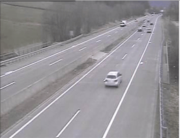 A01 West Autobahn: Bei Anschlussstelle Seewalchen, Blickrichtung Salzburg – Km 240,85 webcam Live