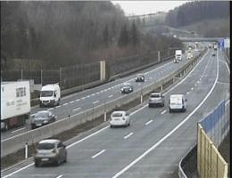 A01 West Autobahn: Bei Rastplatz Wildenhag, Blickrichtung Wien – Km 243,70 webcam Live