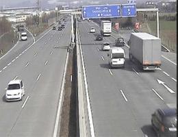 A01 West Autobahn: Bei Siezenheim, Blickrichtung Wien – Km 294,91 webcam Live