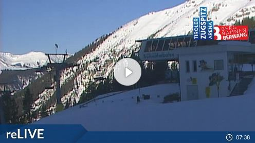 Berwang – Sonnalmbahn Bergstation webcam Live