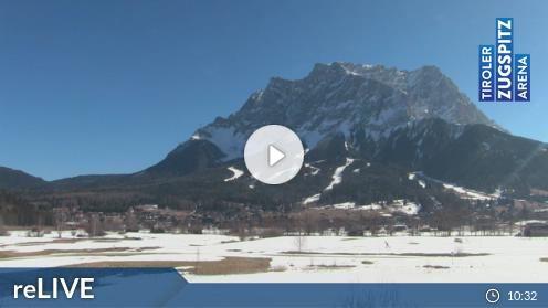 Ehrwald – Tiroler Zugspitze Golf-Anlage webcam Live