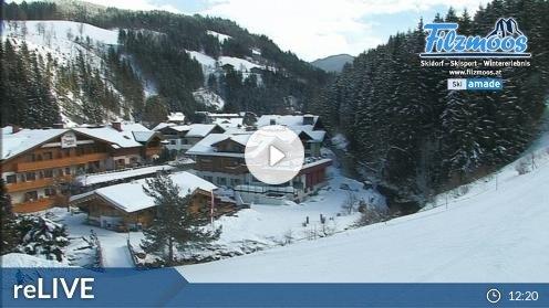 Filzmoos Papageno Talstationsgebäude Webcam Live