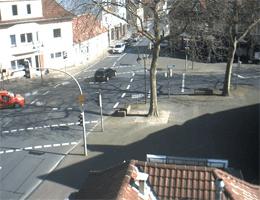 Gütersloh-Friedrichsdorf – Blick auf die Ortsmitte webcam Live