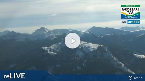 Großarl – Bergstation 6er Sesselbahn Harbach webcam Live