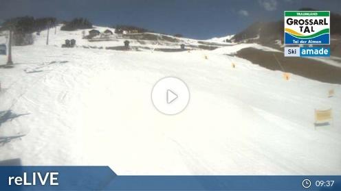 Großarl – Talstation Hochbrandbahn webcam Live