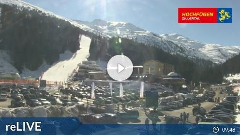 Hochfügen – Klausboden Tal webcam Live