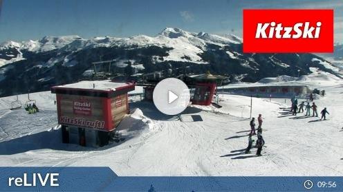 Hollersbach im Pinzgau Bergstation Panoramabahn Webcam Live