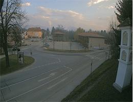 Judendorf-Straßengel – Hauptplatz und Volksschule Webcam Live
