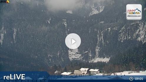 Krimmler Wasserfälle Webcam Live