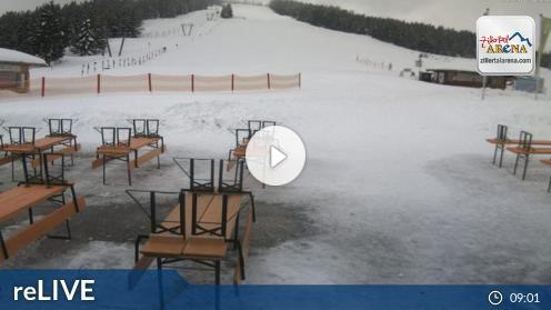 Krimml Panoramarestaurant Filzsteinalm (Gerlosplatte) Webcam Live