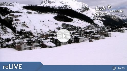 Lech Zürs am Arlberg – Flühenlift webcam Live