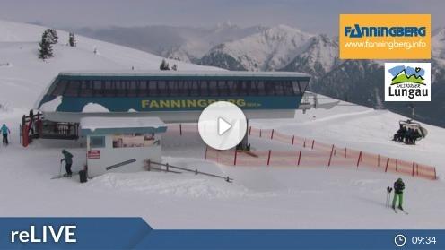 Mariapfarr – Fanningberg, Bergstation webcam Live