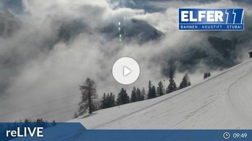 Neustift im Stubaital – Bergstation Panoramabahn Elfer webcam Live