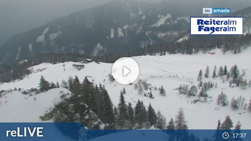 Pichl-Preunegg – Reiteralm Bergstation 6er-Sesselbahn webcam Live