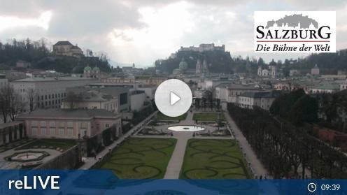 Salzburg – Schloss Mirabell webcam Live