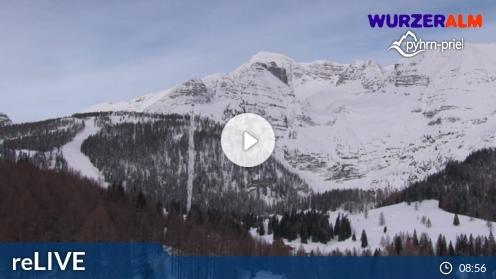 Spital am Pyhrn Bergstation Wurzeralm 2 Webcam Live
