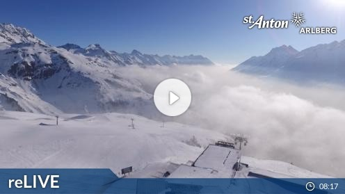St. Anton am Arlberg – FlyingCam webcam Live