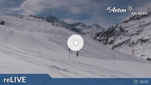 St. Anton am Arlberg – St. Christoph webcam Live
