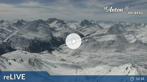 St. Anton am Arlberg – Valluga webcam Live