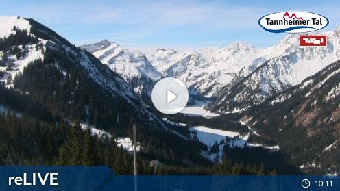 Tannheim Neunerköpfle Mittelstation Webcam Live