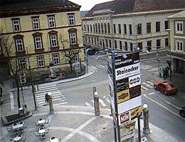 Waidhofen an der Thaya – Postkreuzung webcam Live