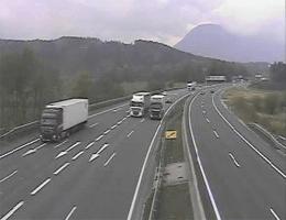 A01 West Autobahn Blickrichtung Walserberg webcam Live